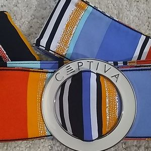 Vintage Captiva O Ring Belt
